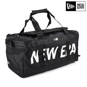 【NEW ERA】ニューエラのダッフルバッグ。 大量の荷物をスムーズに持ち運ぶことができるダッフルバ...