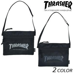 ショルダーバッグ THRASHER スラッシャー THRSG114 EX L25|murasaki