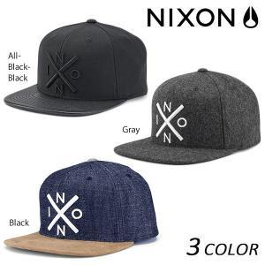 キャップ NIXON ニクソン Exchange Snapback C2066 EEF H10|murasaki