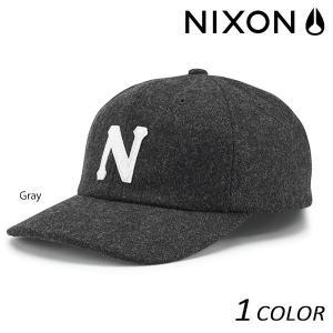 キャップ NIXON ニクソン Prep Wool Strapback C2835 EEF H10|murasaki