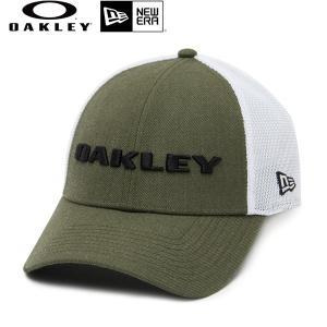 メッシュ キャップ OAKLEY オークリー × NEW ERA ニューエラ HEATHER NEW ERA HAT 911523-86V FFS D5|murasaki