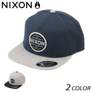 キャップ NIXON ニクソン LAZARO NC2570 FF B22 MM|murasaki