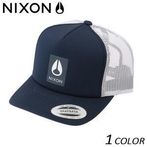 メッシュ キャップ NIXON ニクソン LOWTRUCKER NC2742 FF B22 MM|murasaki