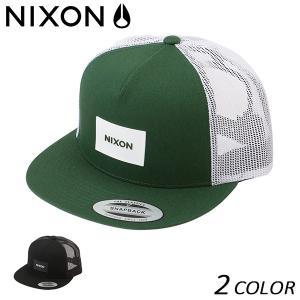 メッシュ キャップ NIXON ニクソン TEAM TRUCKER NC2167 FF B22 MM|murasaki