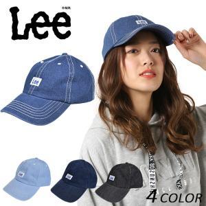 キャップ Lee リー LOW CAP COTTON DENIM 100-176304 FF B9|murasaki