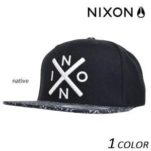 キャップ NIXON ニクソン Exchange Snapback EES D29|murasaki