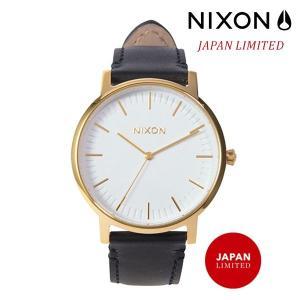 時計 NIXON ニクソン PORTER LEATHER A1058 2523 FF G5|murasaki