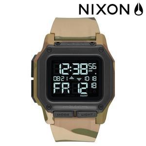 時計 NIXON ニクソン REGULUS MULTICAM レグルス マルチカム A1180 FF E16 MM murasaki