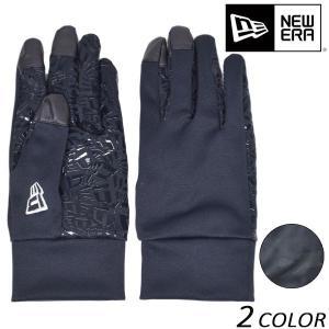 手袋 NEW ERA ニューエラ E TOUCH STRETCH WINDPROOF GLOVE イー タッチ ストレッチ ウィンドプルーフ グローブ EEF L16 MM|murasaki