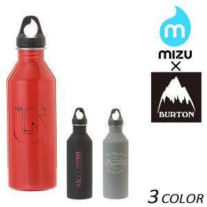 ステンレス ウォーターボトル MIZU ミズ × BURTON バートン BURTON M8 FF B23|murasaki