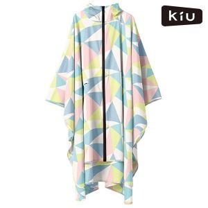 レインポンチョ KiU キウ K64-125 KiU RAIN PONCHO レインコート 雨 アウ...