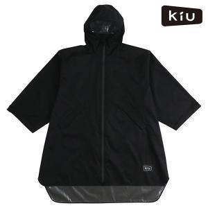 レインポンチョ KiU キウ K77-182 SLEEVE RAIN PONCHO スリーブレインポ...