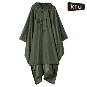 レインポンチョ KiU キウ K88-906 AIR-LIGHT RAIN PONCHO エアライト...