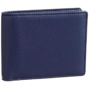 ノイ・インテレッセ 二つ折り財布(小銭入れ付き札入) ナーデル ネイビー