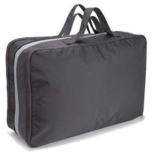 旅行圧縮バッグ 便利グッズ 収納 圧縮袋 ラベルポーチ ファスナー旅行 ファスナー圧縮で衣類スペース60%節約 出張 便利Linkax