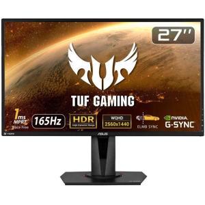 ASUS TUFGaming ゲーミングモニター 27インチWQHD/2560x1440/IPS/H...