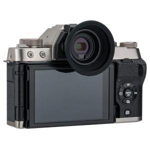 Kiwifotos アイカップ Fujifilm X-T100 対応 シリコン ホットシュー装着