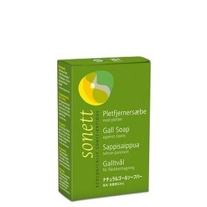 ソネット SONETT 石鹸 固形 しみ抜き オーガニック ゴールソープバー 100g