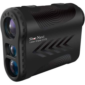 ショットナビ Shot Navi 距離測定器 レーザースナイパーX1 Fit ブラック