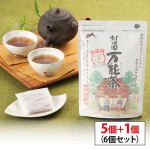 【s】村田園 急須用万能茶(選)ティーバッグ×5個+1個セット 【16種配合/ブレンド茶/健康茶】