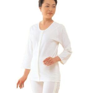 コベス ワンタッチ肌着 婦人前開き7分袖(ホック式) N050F|muratakagu