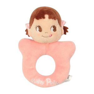 ベビーおもちゃ BabyPeko ベビーペコちゃん リングがらがら BPR-002|muratakagu
