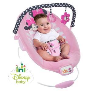 Disney baby (ディズニーベビー) ミニーマウス・ブラッシングボーズ・バウンサー ベビーチェア 10903 かわいい オリジナルメロディ 赤ちゃん|muratakagu