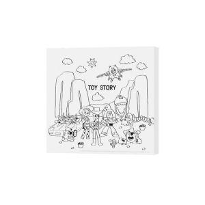 ディズニー キャンバスパネル 30角 トイ・ストーリー2 H000086 リビング インテリア DI...