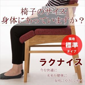 ダイニングチェア ラクナイス 標準タイプ 女性にやさしい椅子 腰痛 肩こり 猫背 福祉 高齢者 健康|muratakagu