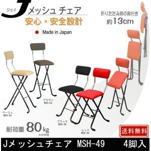 Jメッシュチェア MSH-49 4脚 muratakagu