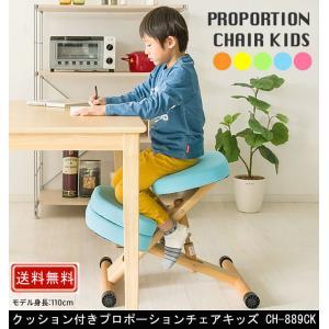 クッション付きプロポーションチェアキッズ CH-889CK muratakagu