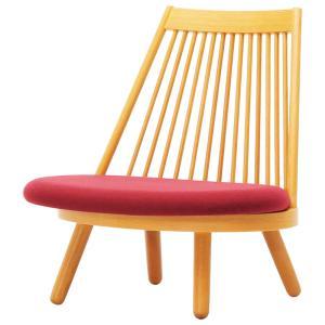 天童木工 スポークチェア S-5027NA-ST(あぐら椅子) 張地グレードS|muratakagu