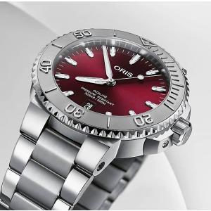 オリス 腕時計 ORIS アクイス デイト ダイバーズ 自動巻き 733.7766.4158M
