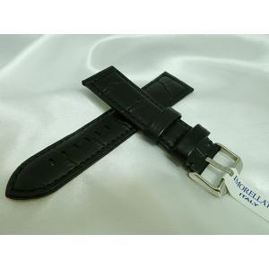 時計ベルト 腕時計バンド MORELLATO モレラート バンド BOTERO ボテロ ブラック 黒 皮革 革ベルト 送料無料|muratatokei