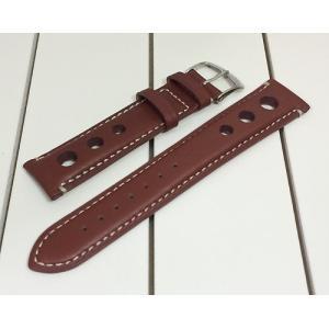 時計ベルト 腕時計バンド MORELLATO モレラート バンド GIOTTO ジョット ゴールドブラウン 茶色 革ベルト 送料無料|muratatokei
