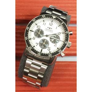 腕時計 メンズ テクノス TECHNOS メンズウォッチ クロノグラフ T4541SS 正規1年保証 送料無料|muratatokei