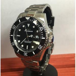 腕時計 メンズ テクノス TECHNOS メンズウォッチ ダイバーズウオッチ T9559SB 正規1年保証 送料無料|muratatokei
