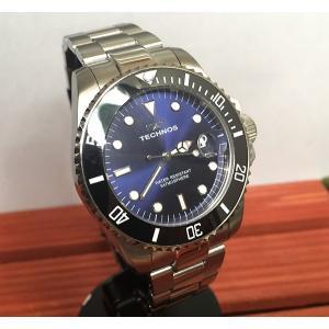 腕時計 メンズ テクノス TECHNOS メンズウォッチ ダイバーズウオッチ T9559SN 正規1年保証 送料無料|muratatokei