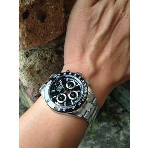 腕時計 メンズ テクノス TECHNOS メンズウォッチ クロノグラフ ブラック 黒 TSM401TB 正規1年保証 送料無料|muratatokei