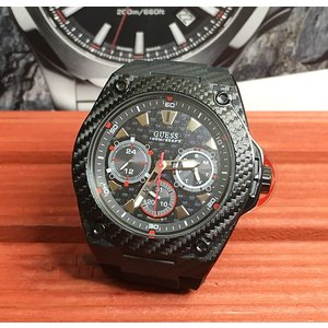 腕時計 GUESS ゲス メンズウォッチ クォーツ ラバーベルト W1048G2 プレゼント 正規品 送料無料 ラッピングサービス|muratatokei