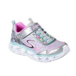 SKECHERS/スケッチャーズ  GALAXY LIGHTS 光る靴 17.0cm スニーカー キッズ 女の子 (シルバー/マルチ) 10920L murauchi3