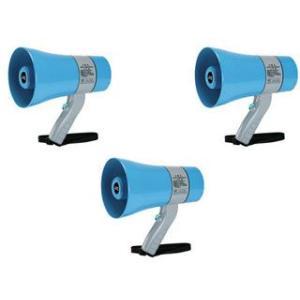 JVCケンウッド  【3個セット!】拡声器 メガホン (6W) PE-M306 【防塵・防水対応】|murauchi3