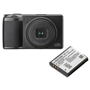 GR3DB110 ハイエンドコンパクトデジタルカメラ RICOH GR III と 純正バッテ...