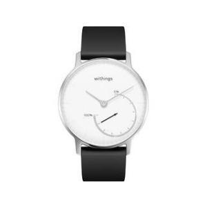 Withings ウィジングズ (NOKIA ノキア)  在庫限り スマートウォッチ Steel Black & White HWA01-Steel-White-All-JP HWA01-STEEL|murauchi3