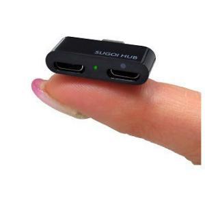システムトークス  【納期未定】SUGOI HUB micro Charge(スゴイハブマイクロチャージ) USB2-HUBMC2CH-B|murauchi3