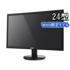 Acer エイサー メーカー3年保証 24型ワイドLED液晶ディスプレイ TN方式 K242HLbid ブラックの商品画像