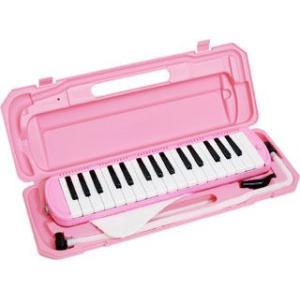 キョーリツコーポレーション  【在庫限り】鍵盤ハーモニカ 32鍵【メロディーピアノ】 P3001-32K PK(ピンク)|murauchi3