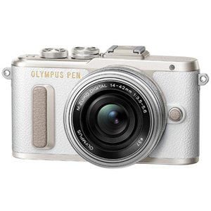 OLYMPUS/オリンパス  PEN E-PL8・14-42mm EZレンズキット(ホワイト)|murauchi3