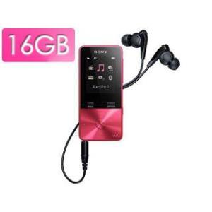 SONY/ソニー  NW-S315-P(ビビットピンク) 16GB ウォークマン Sシリーズ(メモリータイプ)|murauchi3