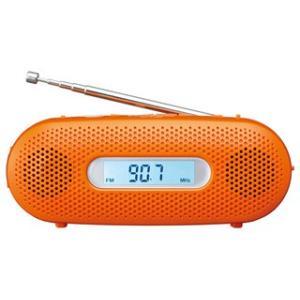 RFTJ20 乾電池がなくてもラジオ・ライトが使える 手回し充電対応